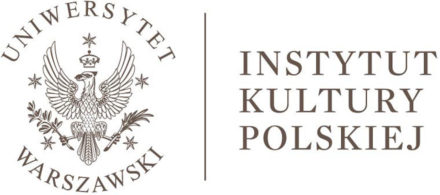 Logo: Institute of Polish Culture University of Warsaw