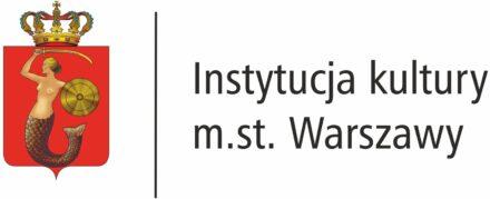 Logo: Instytucja Kultury m.st. Warszawy