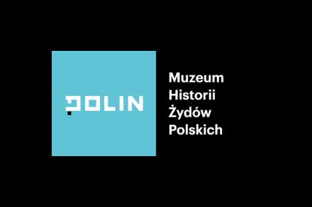 Logo: Muzeum Historii Żydów Polskich POLIN