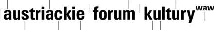 Logo: Austriackie Forum Kultury wWarszawie
