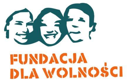 Logo: Fundacja dla Wolności