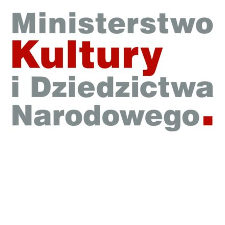 Logo: Ministerstwo Kultury iDziedzictwa Narodowego
