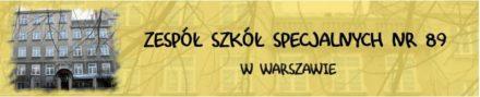 Logo: Zespół Szkół Specjalnych nr89