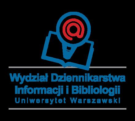 Logo: Wydział Dziennikarstwa, Informacji iBibliologii UW