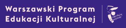 Logo: Warszawski Progam Edukacji Kulturalnej