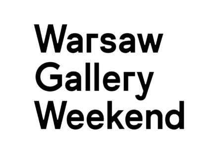 Logo: Warsaw Gallery Weekend