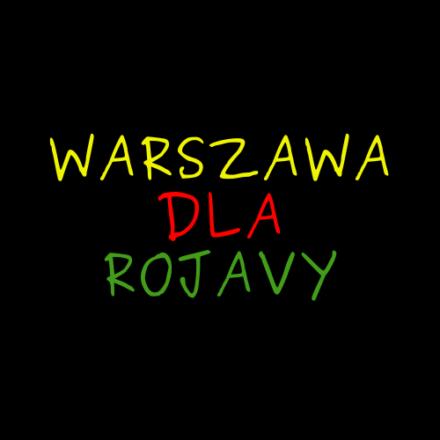 Logo: Warszawa dla Rożawy