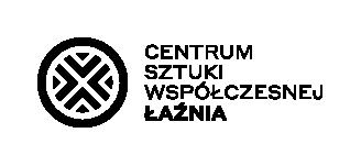 Logo: Centrum Sztuki Współczesnej Łaźnia