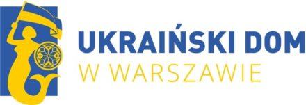 Logo: Ukraiński Dom wWarszawie
