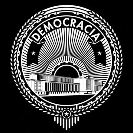 Logo: Democracia