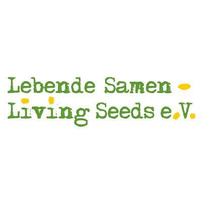 Logo: Lebende Samen – Living Seeds